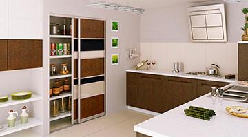 Шкафы-купе для кухни