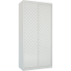 Шкафы-купе Лазурит белый двух-дверный 1812006005 - Командор