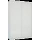 Шкаф-купе Лазурит белый двух-дверный 18160060013 - Командор