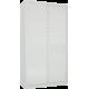 Шкаф-купе Лазурит белый двух-дверный 18140060010 - Командор
